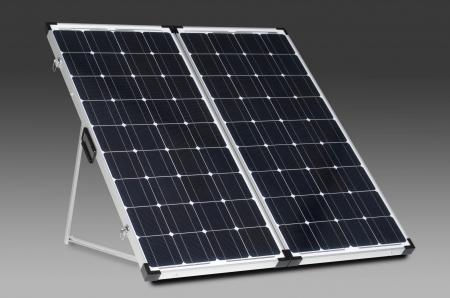 Special 200 Watt Portable Solar Charging System Tri