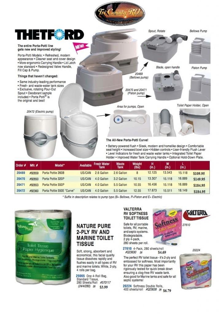 RV Parts / Toilets 450