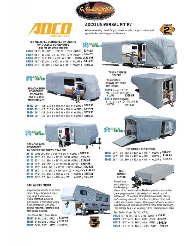 Tri County RV Covers